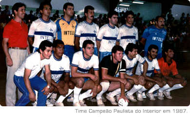 Time Campeão Paulista do Interior em 1987