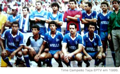 Time Campeão Taça EPTV em 1986