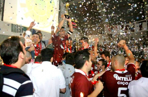Intelli é campeã da Taça Libertadores da América