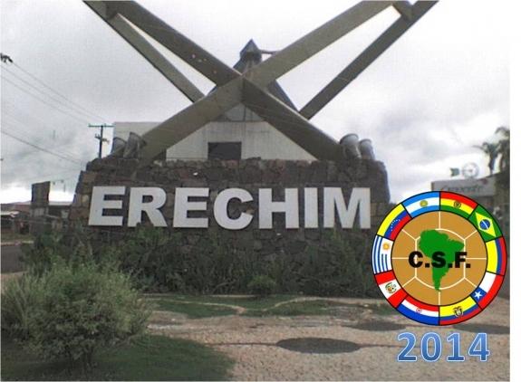 Copa Libertadores da América zonal sul 2014 será em Erechim (RS)