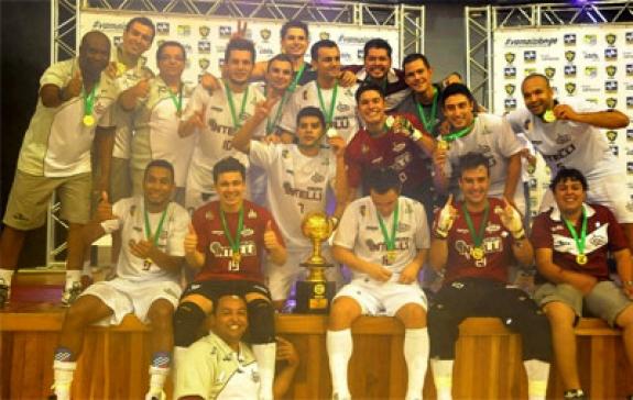 Intelli confirma participação na X Superliga de Futsal e conhece seus adversários
